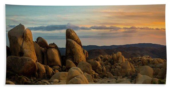 Desert Rocks Hand Towel