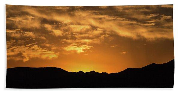 Desert Sunrise Hand Towel