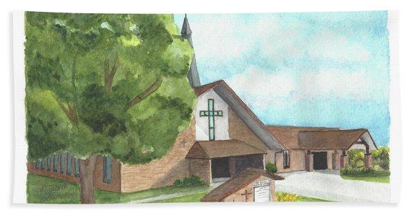 De Soto Baptist Church Hand Towel