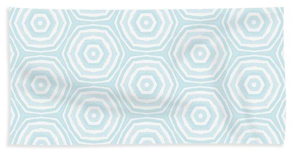 Dip In The Pool -  Pattern Art By Linda Woods Bath Towel