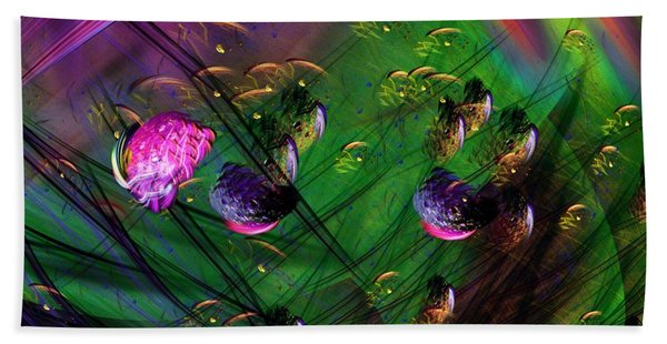 Diving The Reef Series - Hallucinations Bath Towel