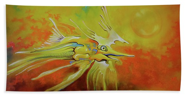 Dragonfish Hand Towel