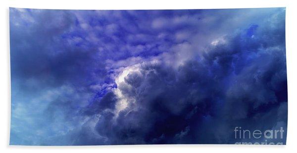 Dramatic Cumulus Sky Bath Towel