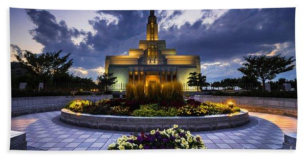 Draper Mormon Lds Temple - Utah Hand Towel