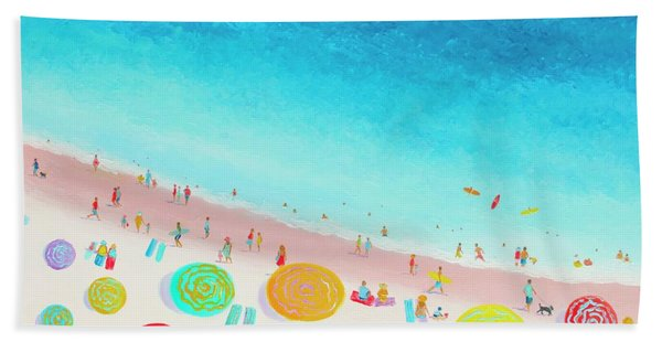 Dreaming Of Sun, Sand And Sea Hand Towel