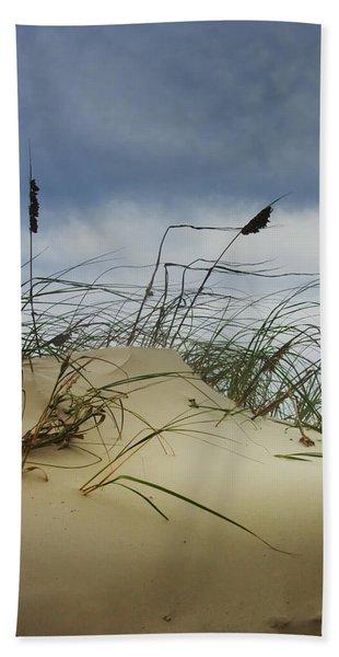 Dune And Beach Grass Hand Towel