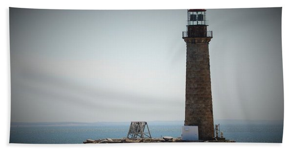 East Coast Lighthouse Bath Towel