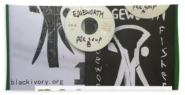 Edgeworth Pee Soup Album Cover Design Bath Towel