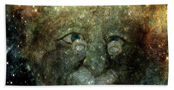 Einsteins Cosmic Travels Bath Towel