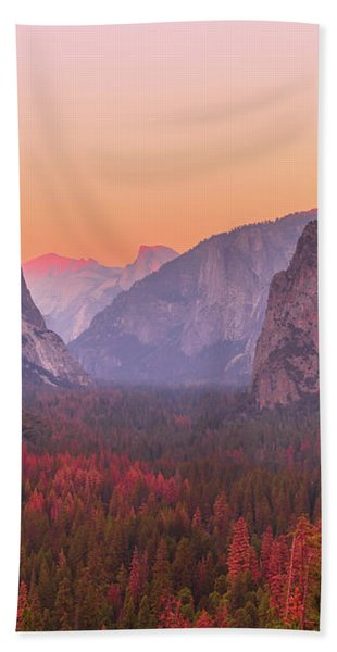 El Capitan Golden Hour Bath Towel