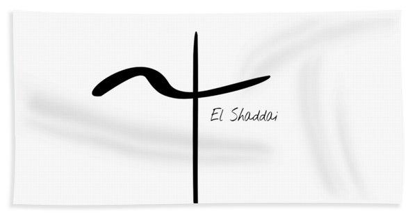 El Shaddai Hand Towel