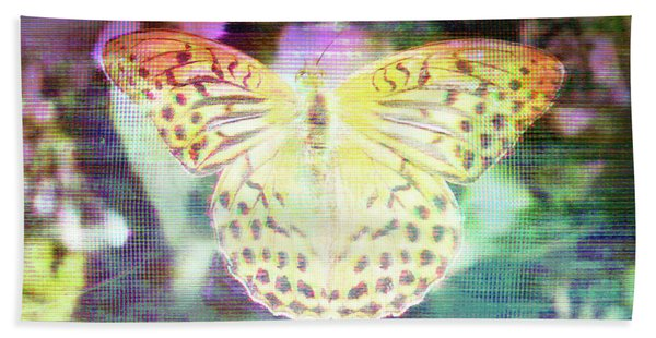 Bath Towel featuring the digital art Electronic Wildlife  by Bee-Bee Deigner