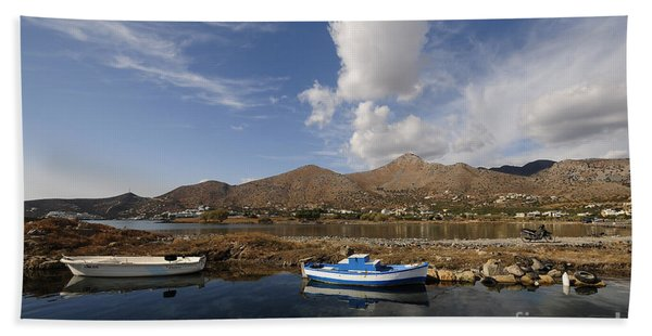 Elounda, Crete Bath Towel