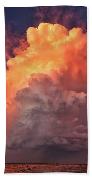 Epic Storm Clouds Bath Towel