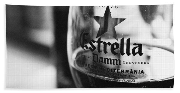Estrella Damm Bath Towel