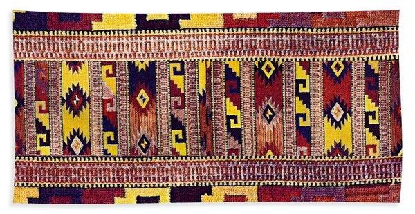 Ethnic Tribal Bath Towel