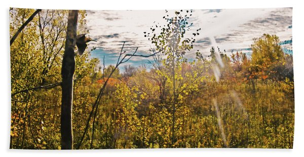 Evanescent Dreams Of Autumn Hand Towel