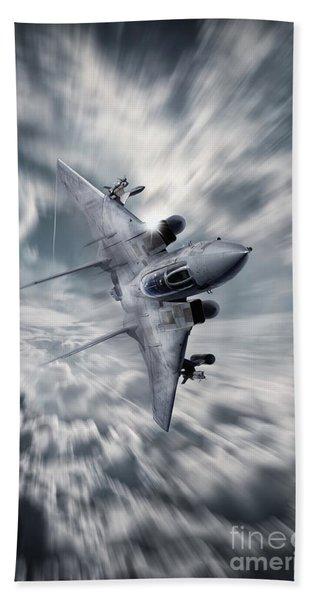 F14 Tomcat Bath Towel