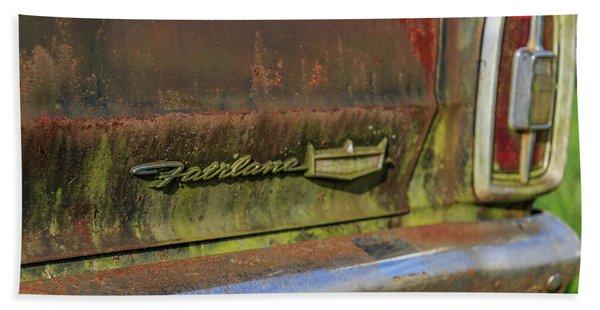 Fairlane Emblem Hand Towel