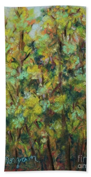 Fall Colors Bath Towel