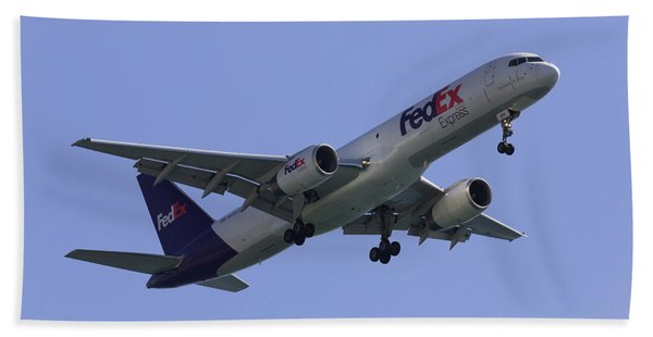 Fedex 757  Bath Towel