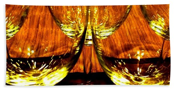 Fine Wine And Dine 3 Hand Towel