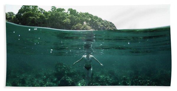 Floating Bath Towel