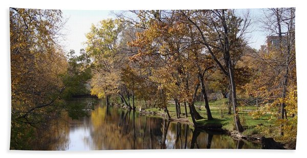 Flood Plain Bath Towel
