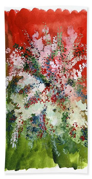 Floral 19 Bath Towel