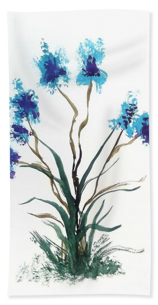 Floral 3 Hand Towel