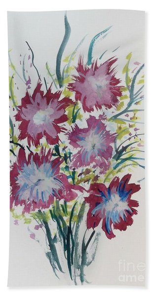Floral 5 Hand Towel
