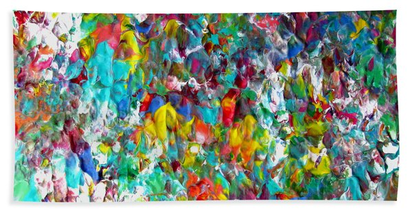 Floral Abstract 0715 Bath Towel