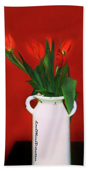 Floral Art 13 Hand Towel