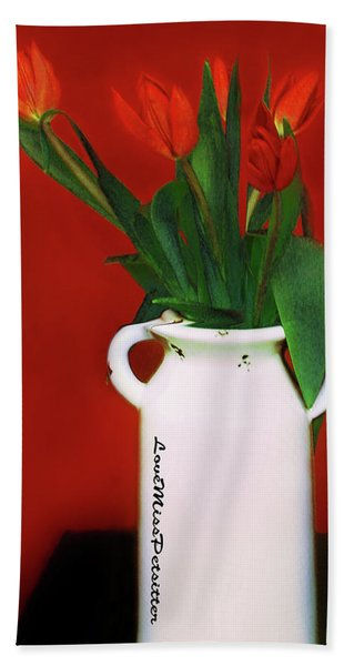 Floral Art 14 Hand Towel