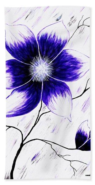 Floral Awakening Hand Towel