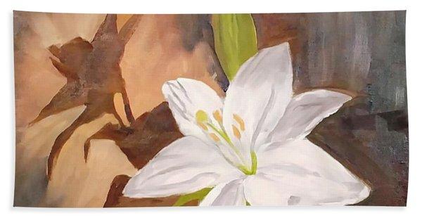 Floral-still Life Hand Towel