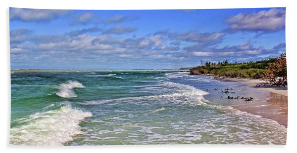 Florida Gulf Coast Beaches Hand Towel