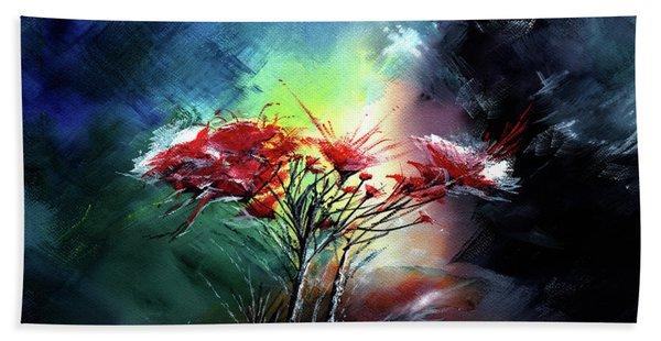 Flowers Hand Towel