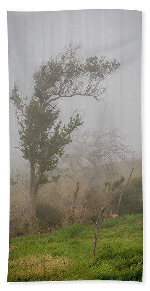 Fog And Wind Bath Towel