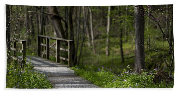 Follow The Path Hand Towel