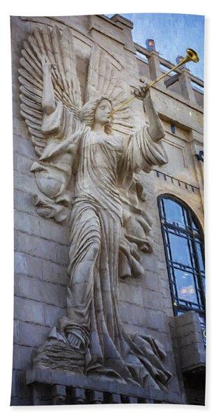Fort Worth Impressions Bass Hall Angel Bath Towel