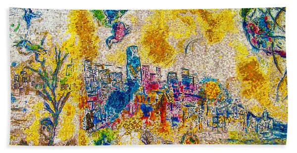 Four Seasons Chagall Hand Towel