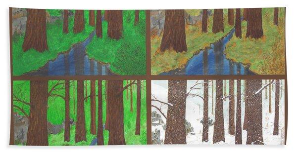 Four Seasons Hand Towel