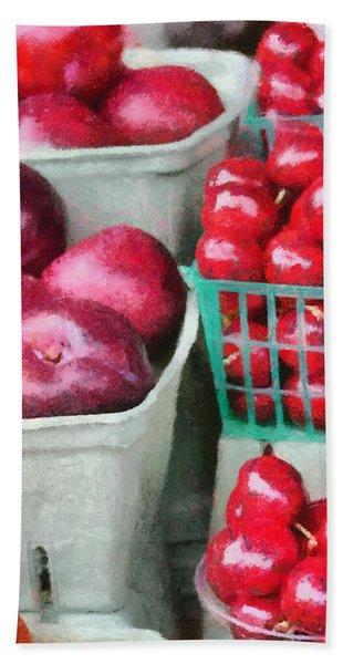 Fresh Market Fruit Hand Towel