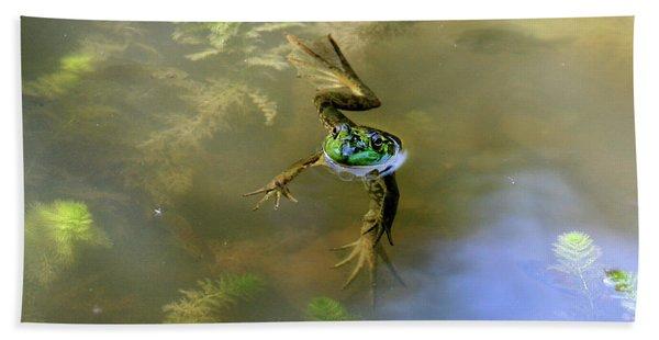 Froggy Bath Towel