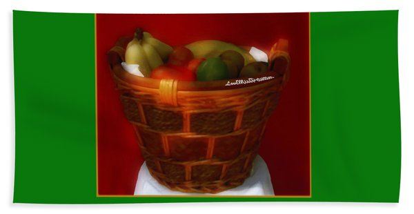 Fruit  Art 5 Hand Towel