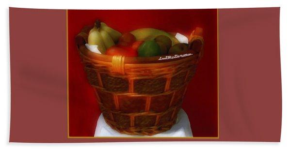 Fruit  Art 7 Bath Towel