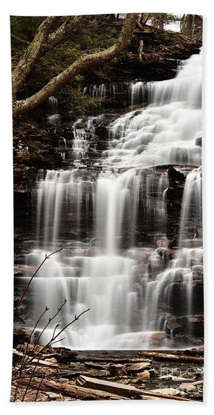 Ganoga Falls Bath Towel