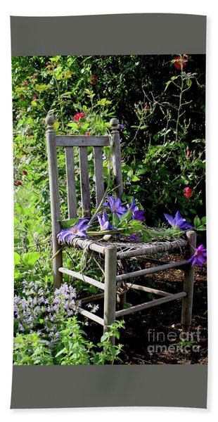 Garden Chair Bath Towel