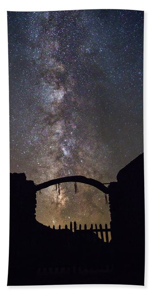 Gate Under The Stars Hand Towel